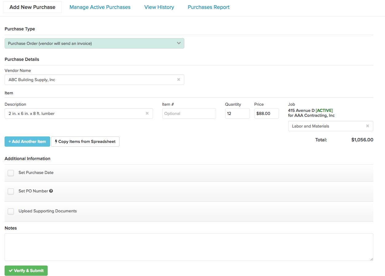 POForm Release 2.21: Change Log