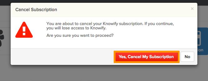 SS4-2 How to Cancel Your Subscription