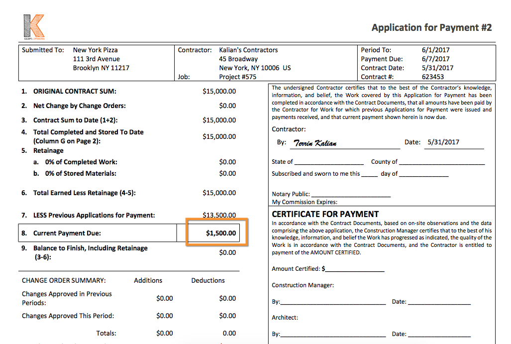 How Do I Submit A Retainage Invoice in AIA Format? | Knowify