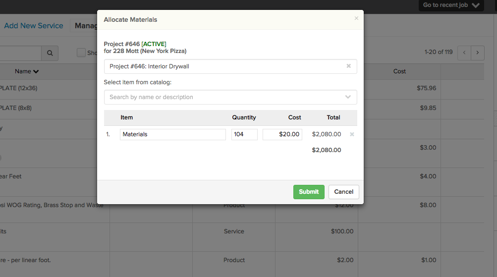 Screen-Shot-2017-07-07-at-8.48.58-AM How Can I Enter Material Cost Against a Job in Knowify Without Pushing to QuickBooks?