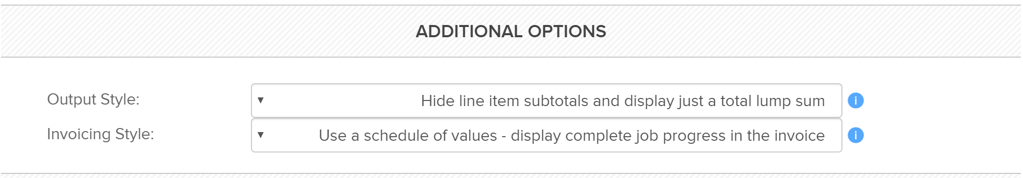 additionalcontractoptions Additional Contract Options