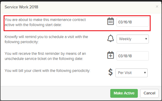 maintenancecontract1.2 How to use Knowify's Maintenance Contracts