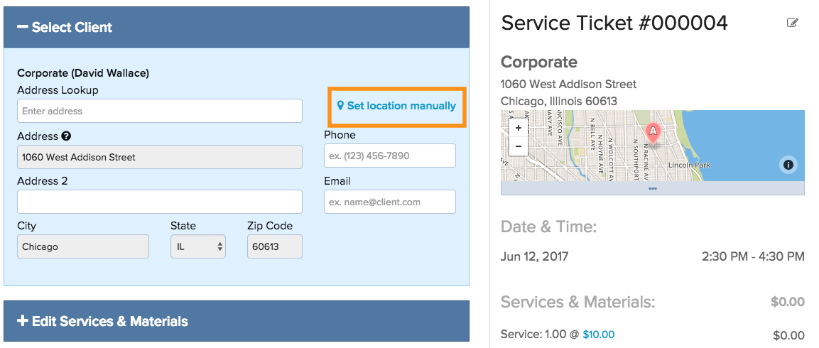 service-location-3 How Do I Edit the Address of a Service Ticket?