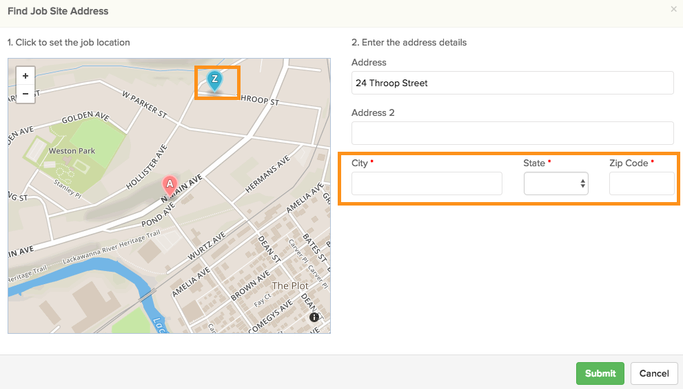 service-location-6 How Do I Edit the Address of a Service Ticket?