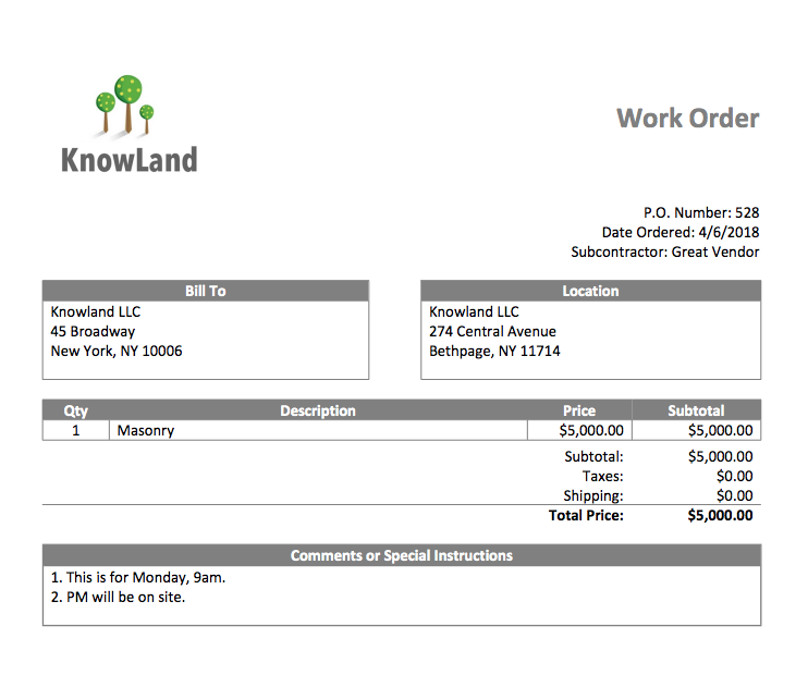 WorkOrder Estimates and Invoices, POs and Bills: How a Little Extra Effort Can Pay Off