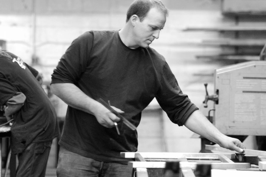 Picture of Josh Young | Serett Metalworks | Knowify case study
