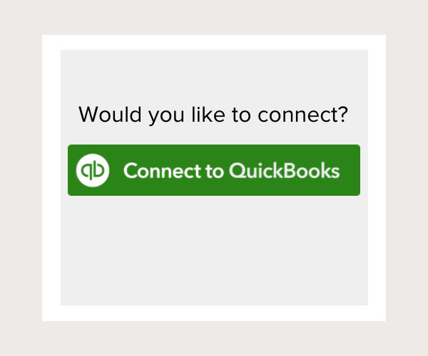 Card on Knowify's setup to connect to QuickBooks Online | Knowify integration