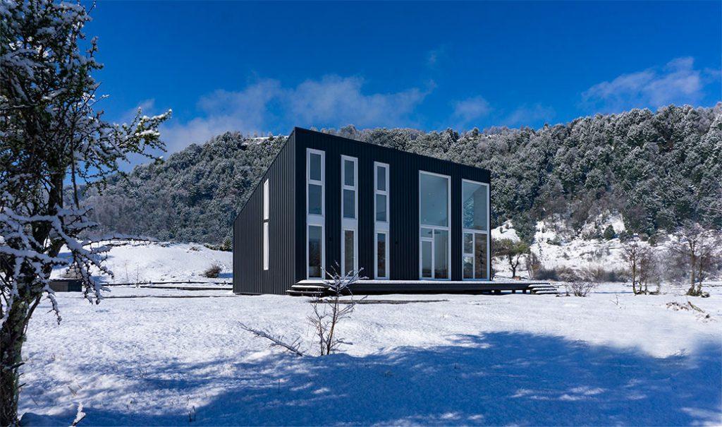 Refugio OSLO construido en Chile por Casas de Montaña