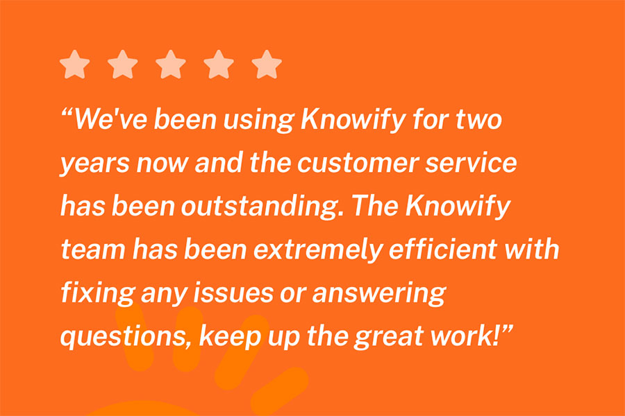 Actual 5-star review about knowify| Knowify