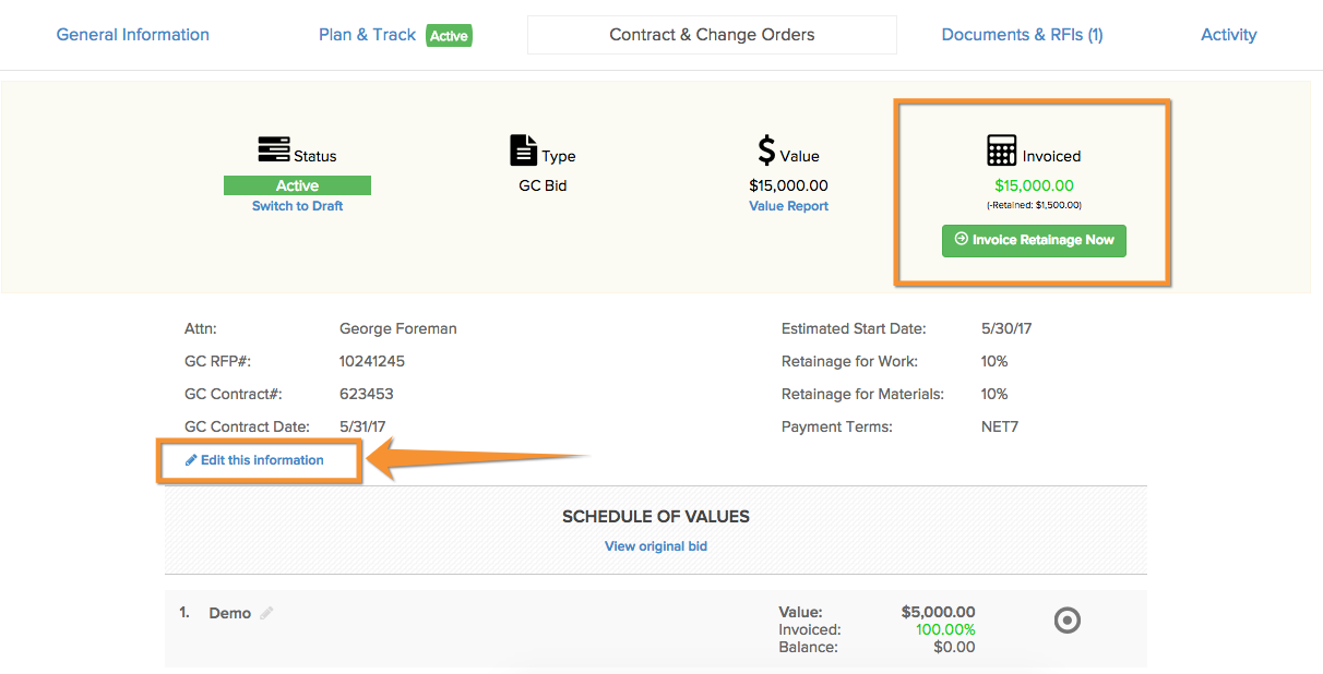 how do i submit a retainage invoice in aia format? | knowify, Invoice templates