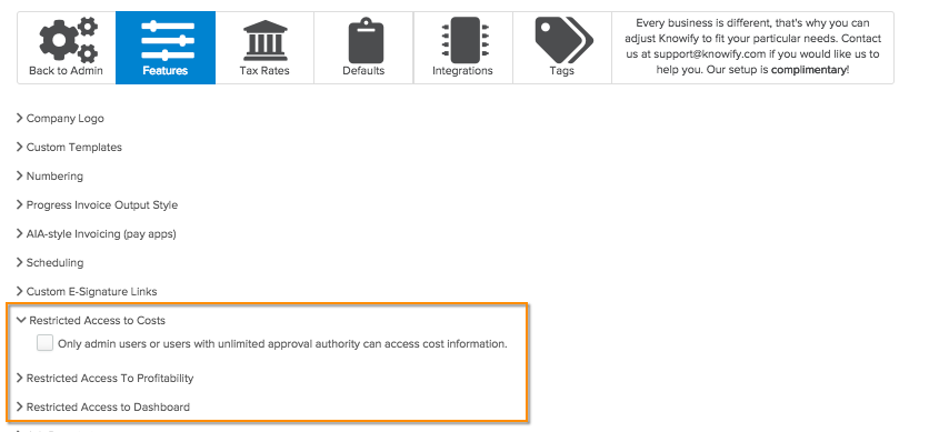 unlimited-approval-authority Feature of the week - Setting permissions